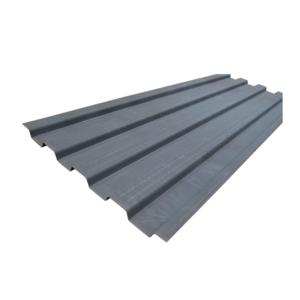 SA2.5 Shot Blasting Corten Steel Parts Shipping Container Front Wall Panels