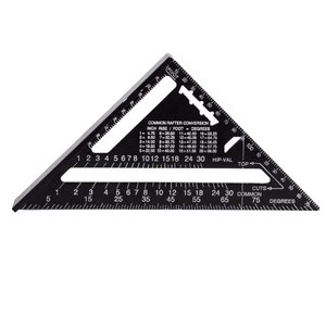 School Classroom Stationery Supply Geometric Math Scale Tools Protractor Triangle Metal Rulers