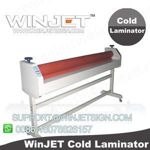 Self adhesive vinyl stickerhot press laminator machine film laminator