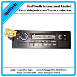 SINOTRUK HOWO Truck spare parts MP3 in car cassette player WG9725780001