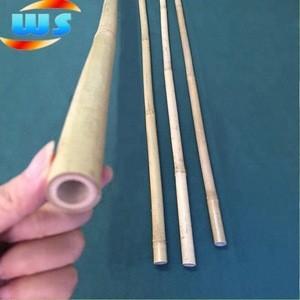 Ski bamboo poles