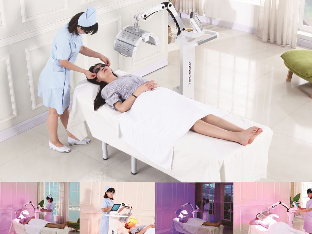 Kernel KN-7000A CE Led Pdt Light Therapy Bio Light Facial beauty machine for salon use