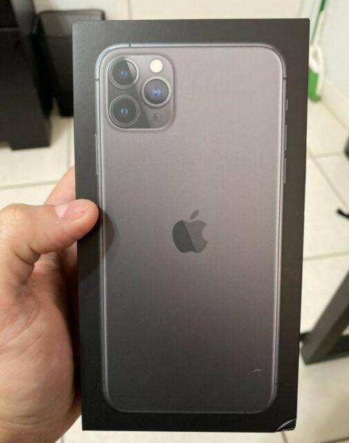 Apple iPhone 11 Pro Max 64GB - Space Grey - Black