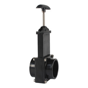 2-inch waste valve body with metal handle,mess-free waste valve for RV's,Camper's,Trailers