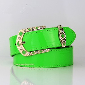 2018 Summer New Style Colorful Leisure PU Leather Belts for Women