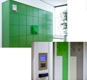7/24 hours metal outdoor waterproof Smart Parcel delivery Lockers for your office or apartment pickup station