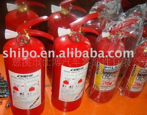 A lot of Fire extinguisher