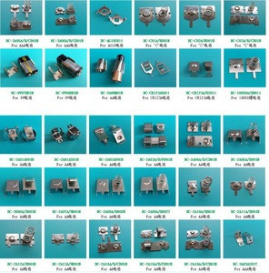 Aa battery contact pcb , aaa battery contact spring stainless steel , aa aaa battery usage