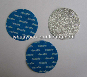 Aluminum foil container disposable lid