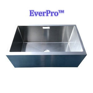 America-Everpro Foshan kitchen outdoor stainless steel apron front single bowl undermount sink 33inch