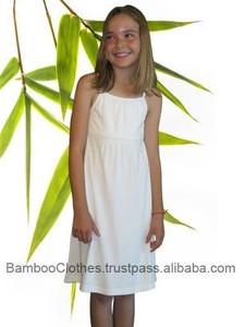 Bamboo fiber Girl's Tank Dress