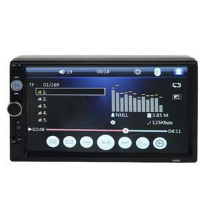 "Bluetooth Multimedia USB Car Radio Autoradio  2 Din Car Video Player 7"" HD MP5 Player Touch Screen Digital Display"