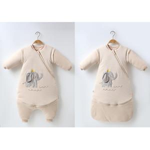 Breathable cotton baby wearable blanket baby sleeping bag cotton baby sleep sack swaddle