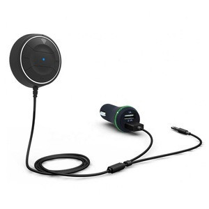 BT 4.0 Hands Free Aux USB Bluetooth Car Kit with Car Charger JBRC01