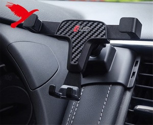 Car Accessories Rotational Smartphone Holder Air Vent Car Holder For Nissan Patrol Y62 2010-2019