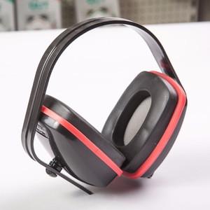 CE standard EN352 noise proof ear muff Red color