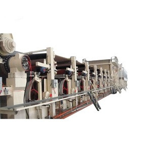 China supply small scale paper recycling plant Cardboard paper making machine waste paper recycling production line