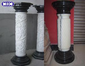 decorative indoor marble stone home decoration pillar