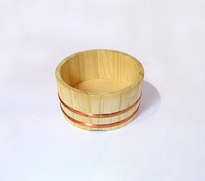 Eco-friendly Japanese Style sushi travelling Portable lunch Handmade Pure Wooden boxes
