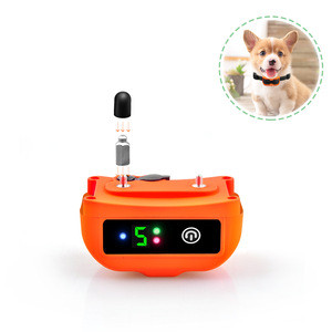 Factory Pet Supplies Adjustable Smart No Bark Anti Back Shock dog Collars with Private Logo Label