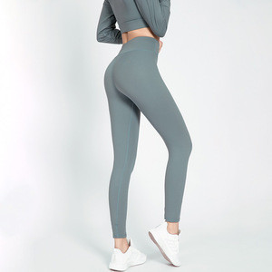 Fashion Female Popular Top Women Activewear Polyester Spandex Mesh Yoga Leggings