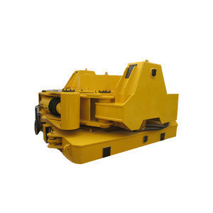 Foundation construction attachment hydraulic piling casing oscillator for Bauer rotary drilling rig