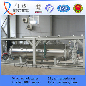 Gasfield shell and tube steam heat exchanger / heat transfer equipment
