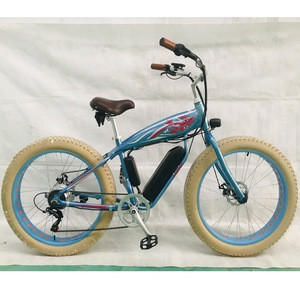 """High-quality 26""""BEACH  E-BICYCLE for beach, recreation and vacation (EB012)"""