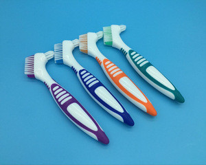 High Quality Multifunctional Orthodontic Toothbrush with Interdental Brush