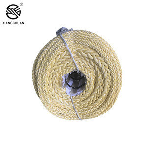 High tenacity 3 Strand 100% New fiber polypropylene packing rope