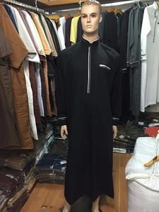 Hot sale Islamic Clothing, Long Saudi Arab style thobe for men