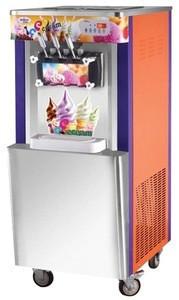 Ice cream maker,ice cream machine,three color ice cream maker for sale