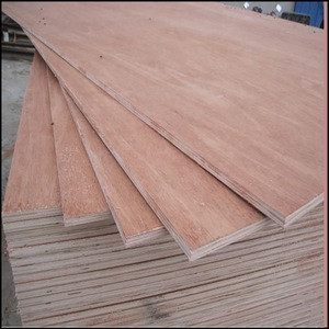 Indoor Used Furniture Plywood with Bintangor / Okoume / Keruing / Radiata Pine / Birch Surface Veneer for making Cabinet