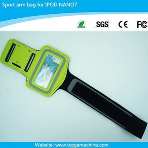 Jogging arm bag for IPOD Nano7/ MP3/MP4