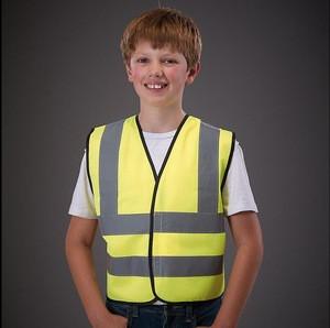 Kids Hi Vis Vest Children High Visibility Waistcoat Safety Vest Children