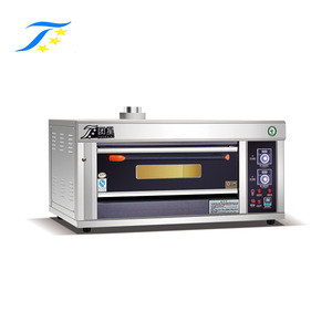 Luxury Type Gas Powered Toaster Baking Oven,Single Deck With High Temperature