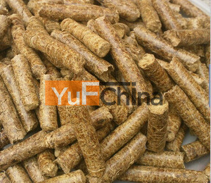 Monthly supply 80000ton biomass Pellets of 8mm diameter