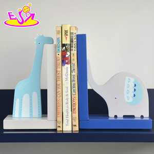 New fashion wooden animal bookend for student W08D059