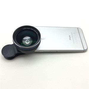 New products 2017 37mm 0.45x wide angle orthoscopeic lens for mobile phone,camera lens for smartphone