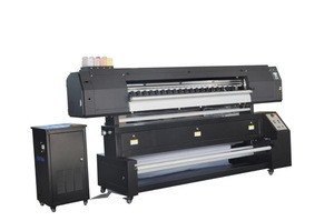 New year1.8m 5113 heads Digital textile direct to flag banner fabric textile sublimation printer