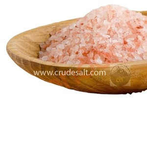 Premium Quality Himalyan Crystal Salt with 250 gram transparent stand up pouch packing 2-5 mm edible salt
