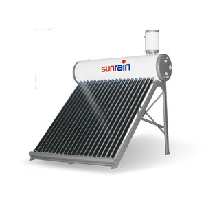 Pressurized pre-heated solar water heater