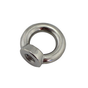 Stainless Steel Din582 Metal M5 M6 M10 M18 M30 M42 Screw Lag Lifting Thimble Spring Toggle With Swivel Snap Eye Nut