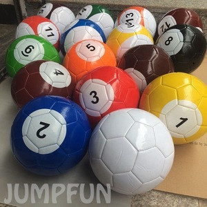 Table tennis football games 16pcs billiards sooocer balls for sale inflatable snooker soccers funny toys