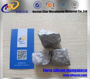 The material of high quality Ferro silicon manganese silicon ingot manufacturers