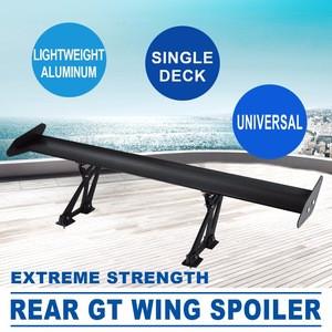 Universal Aluminum Single Rear GT Wing Spoiler BGW Drift JDM Drift Tune Factory