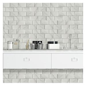 White Ceramic Subway Tile Design Bathroom Ceramic Wall Tiles in Foshan