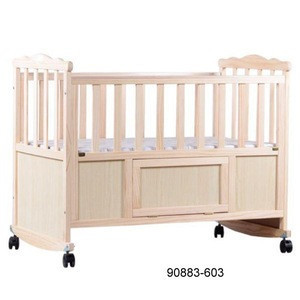 Wooden bed new born baby bed wooden baby bed 90883-603