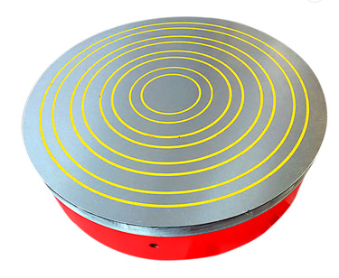 circular electromagnet chuck/table with CE