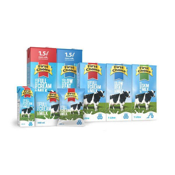 Long life uth milk low fat
